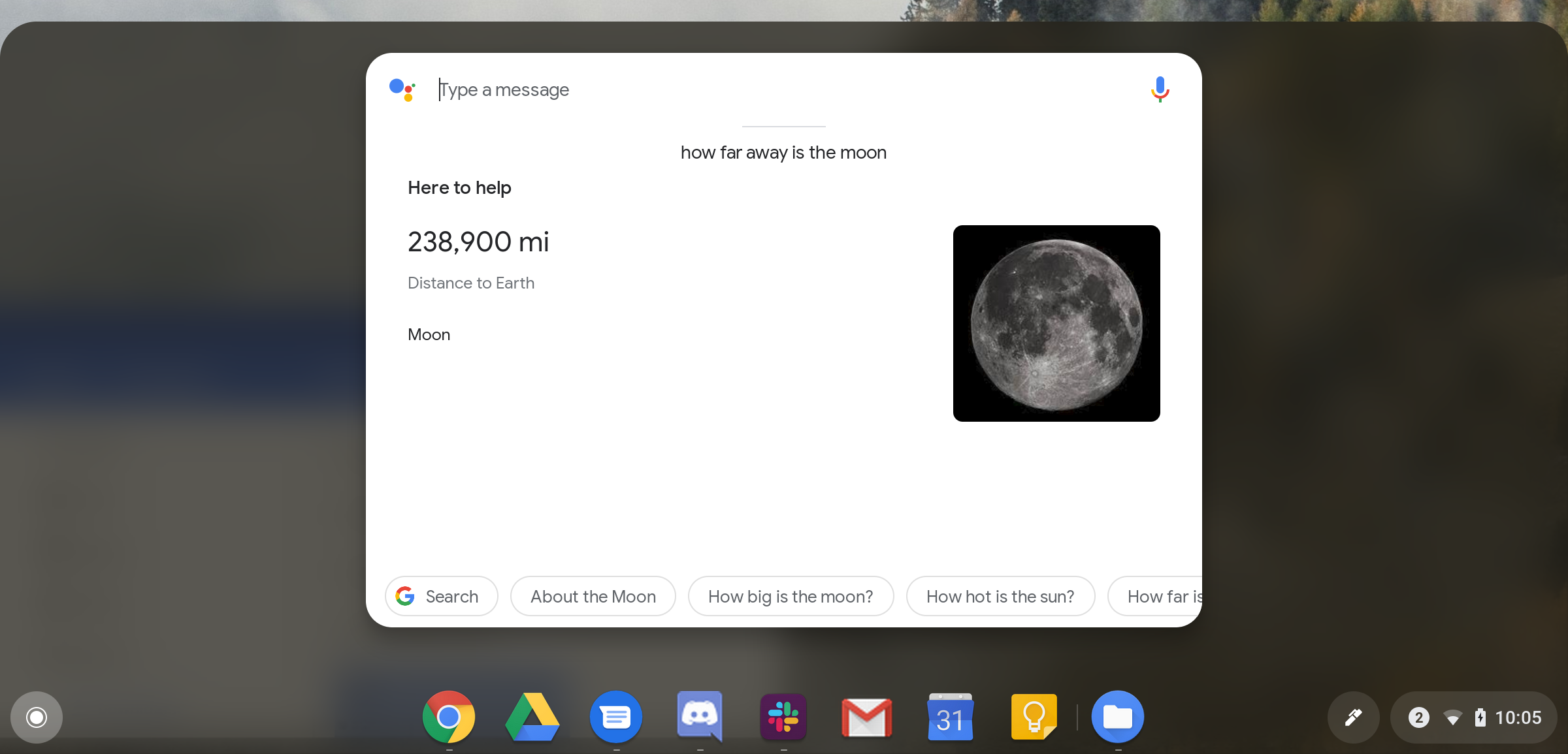 Chrome OS Dev channel integrates Google Assistant results in app