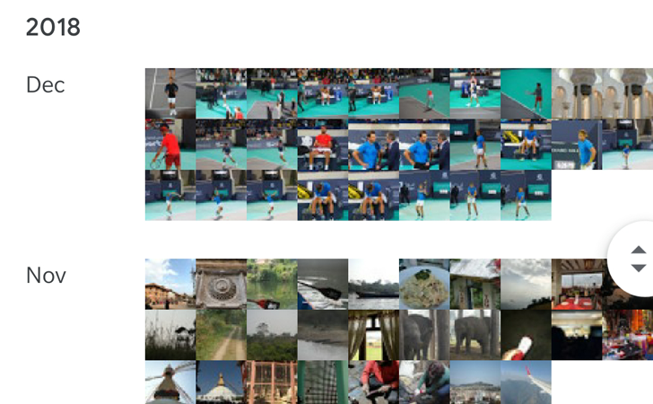 QnA VBage Google Photos has removed its useful and compact yearly view