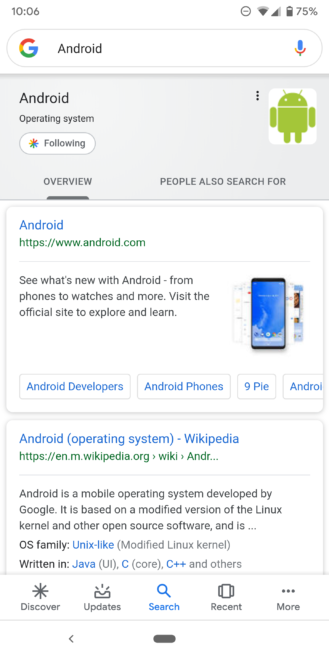 Google improves Knowledge Graph search cards: Material refresh, additional information, more tabs - Android Police 40