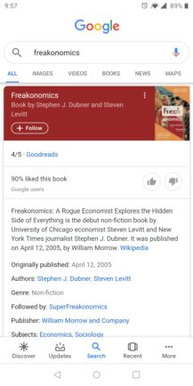 Google improves Knowledge Graph search cards: Material refresh, additional information, more tabs - Android Police 13