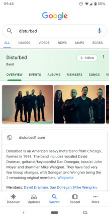 Google improves Knowledge Graph search cards: Material refresh, additional information, more tabs - Android Police 17