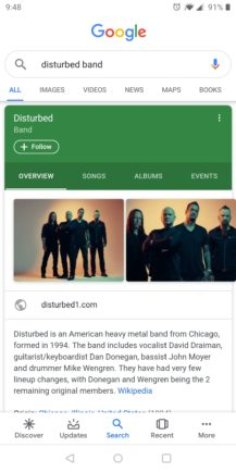 Google improves Knowledge Graph search cards: Material refresh, additional information, more tabs - Android Police 16