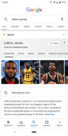 Google improves Knowledge Graph search cards: Material refresh, additional information, more tabs - Android Police 5