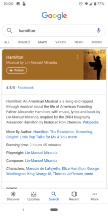 Google improves Knowledge Graph search cards: Material refresh, additional information, more tabs - Android Police 41