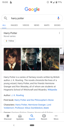 Google improves Knowledge Graph search cards: Material refresh, additional information, more tabs - Android Police 42