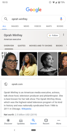 Google improves Knowledge Graph search cards: Material refresh, additional information, more tabs - Android Police 31