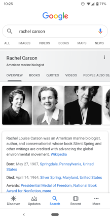 Google improves Knowledge Graph search cards: Material refresh, additional information, more tabs - Android Police 32