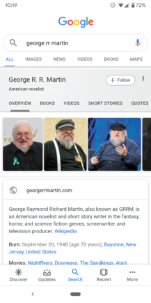 Google improves Knowledge Graph search cards: Material refresh, additional information, more tabs - Android Police 25