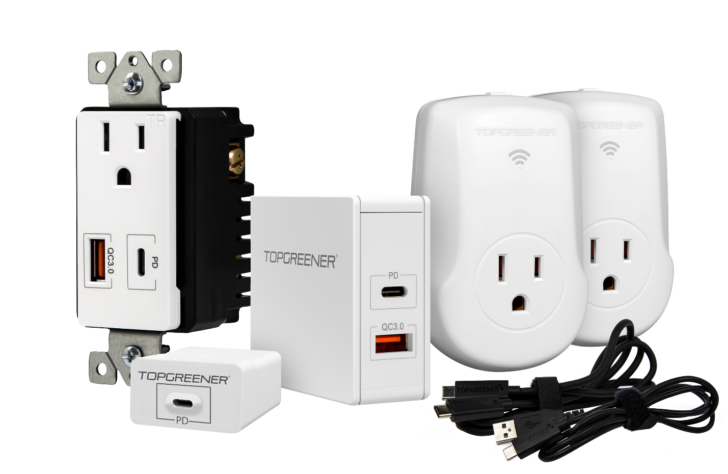 Enter to win one of 5 bundles of TopGreener charging accessories worth over $130 (US)