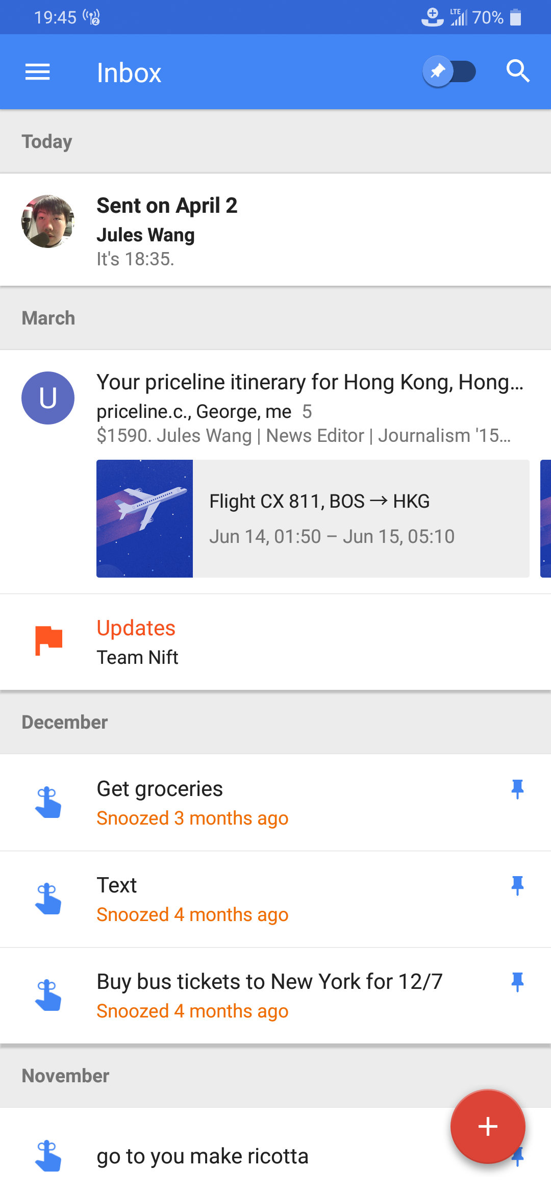 Update: Dead, for real] Inbox by Gmail may be dead, but you