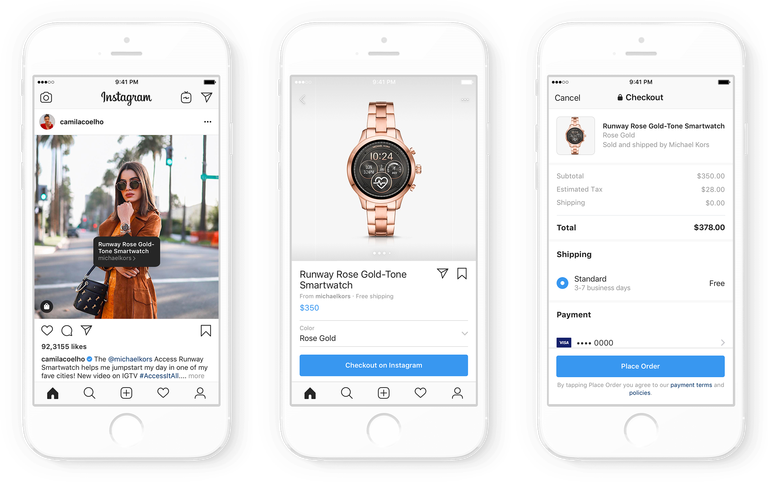 Instagram Announces Camera Redesign & New Shopping Features