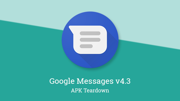 Google Messages v4.3 prepares auto-reply for spam and RCS settings, continues Verified SMS and Assistant integration [APK Teardown]