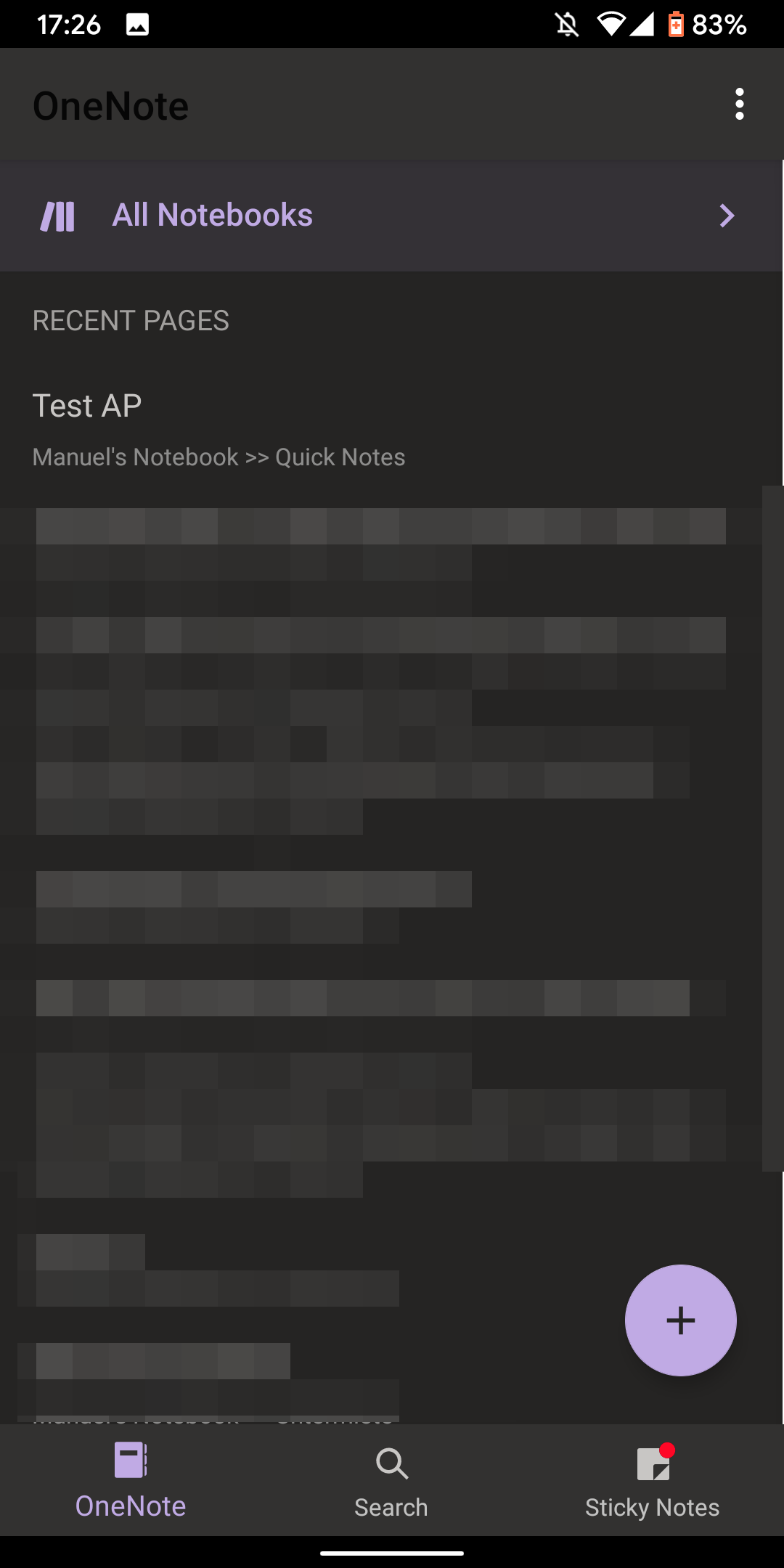 Update: Rolling out] OneNote is getting a dark mode that will