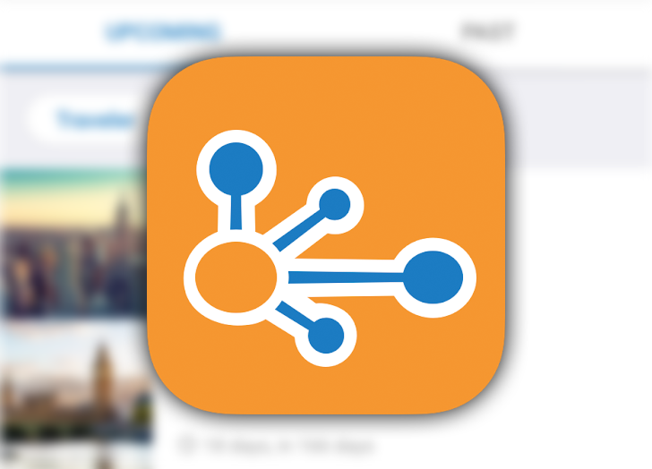 TripIt streamlines adding meetings to your trip's itinerary
