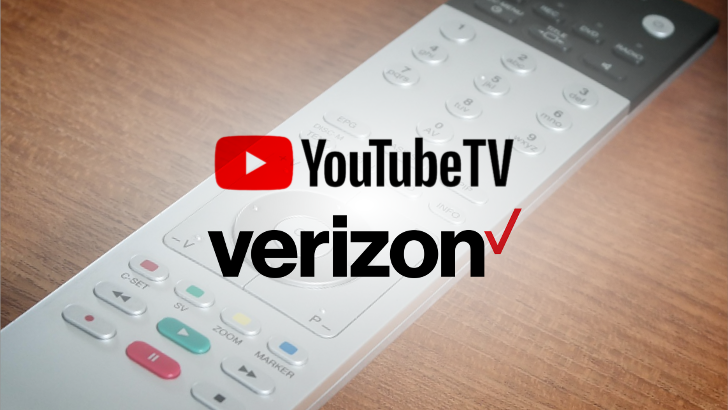 Verizon Now Offers YouTube TV As Part Of Its 5G Service