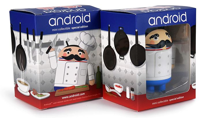 android mini collectible special edition