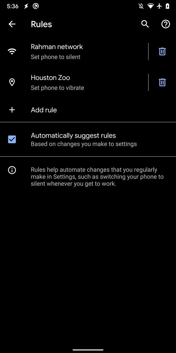 Update: Functional in Beta 5] Hints for Tasker-like Settings Rules