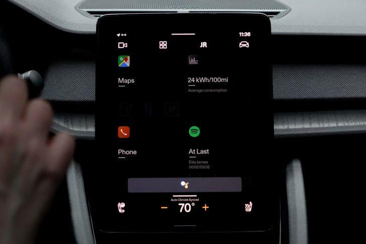 My first look at Google's all-new Android Automotive on the Polestar 2 was very promising - Android Police