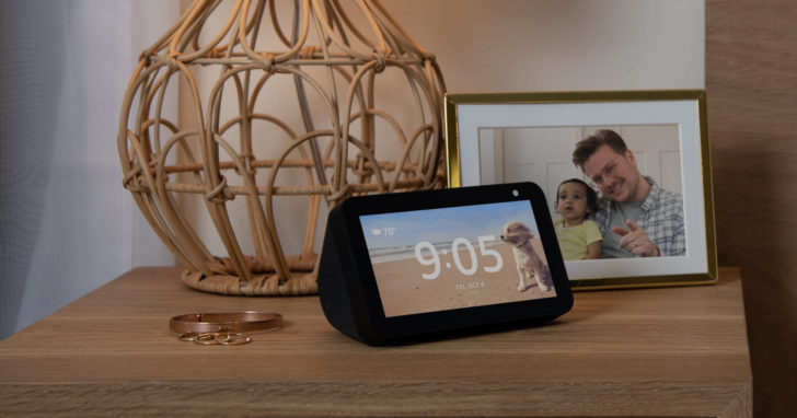 Amazon launches Lenovo Smart Clock competitor, the Echo Show 5, with a bigger screen and a built-in camera