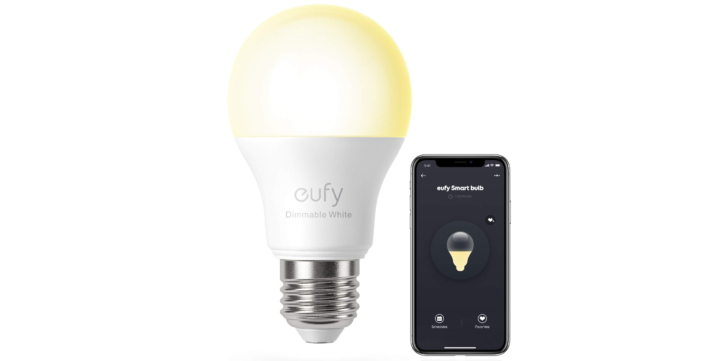 The Eufy Lumos Wi-Fi smart bulb is only $12 on Amazon (25% off)