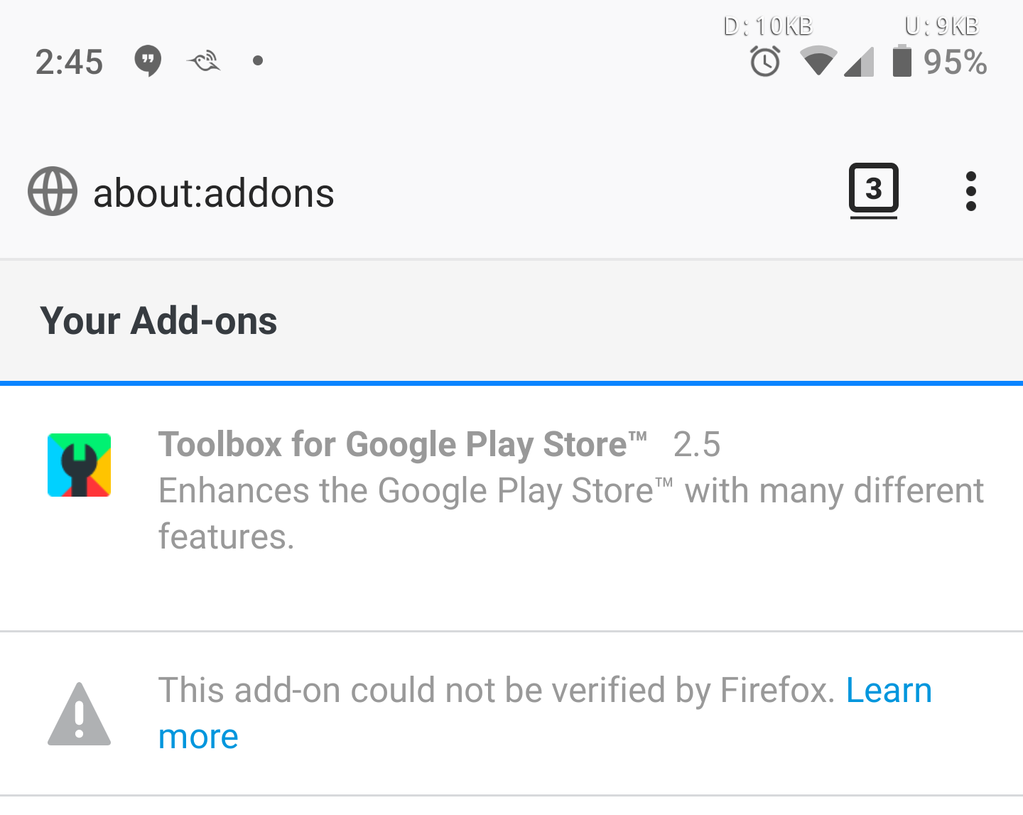 Firefox pushing out update that restores add-ons after huge bug [APK