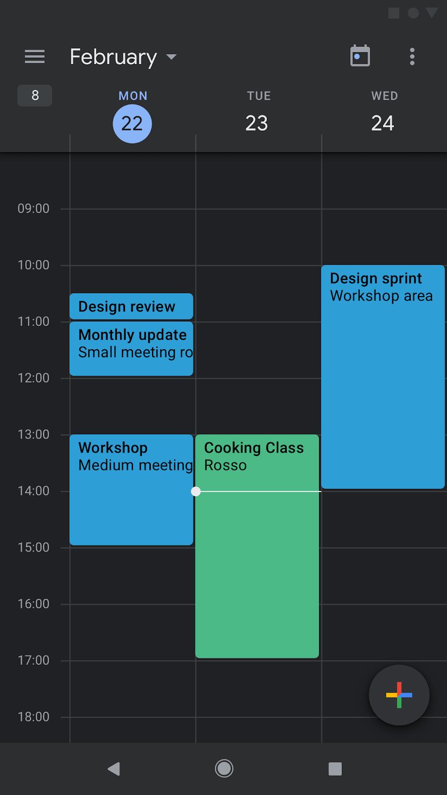 APK Download] Google Calendar gets the dark mode treatment
