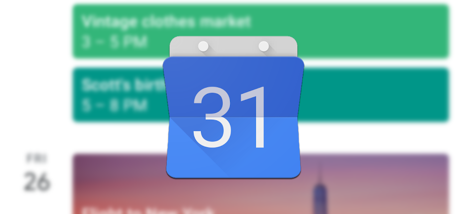 Update: Back to work!] Google Calendar is down, so forget