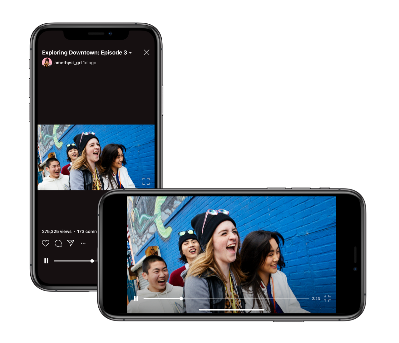 Instagram now supports horizontal IGTV videos