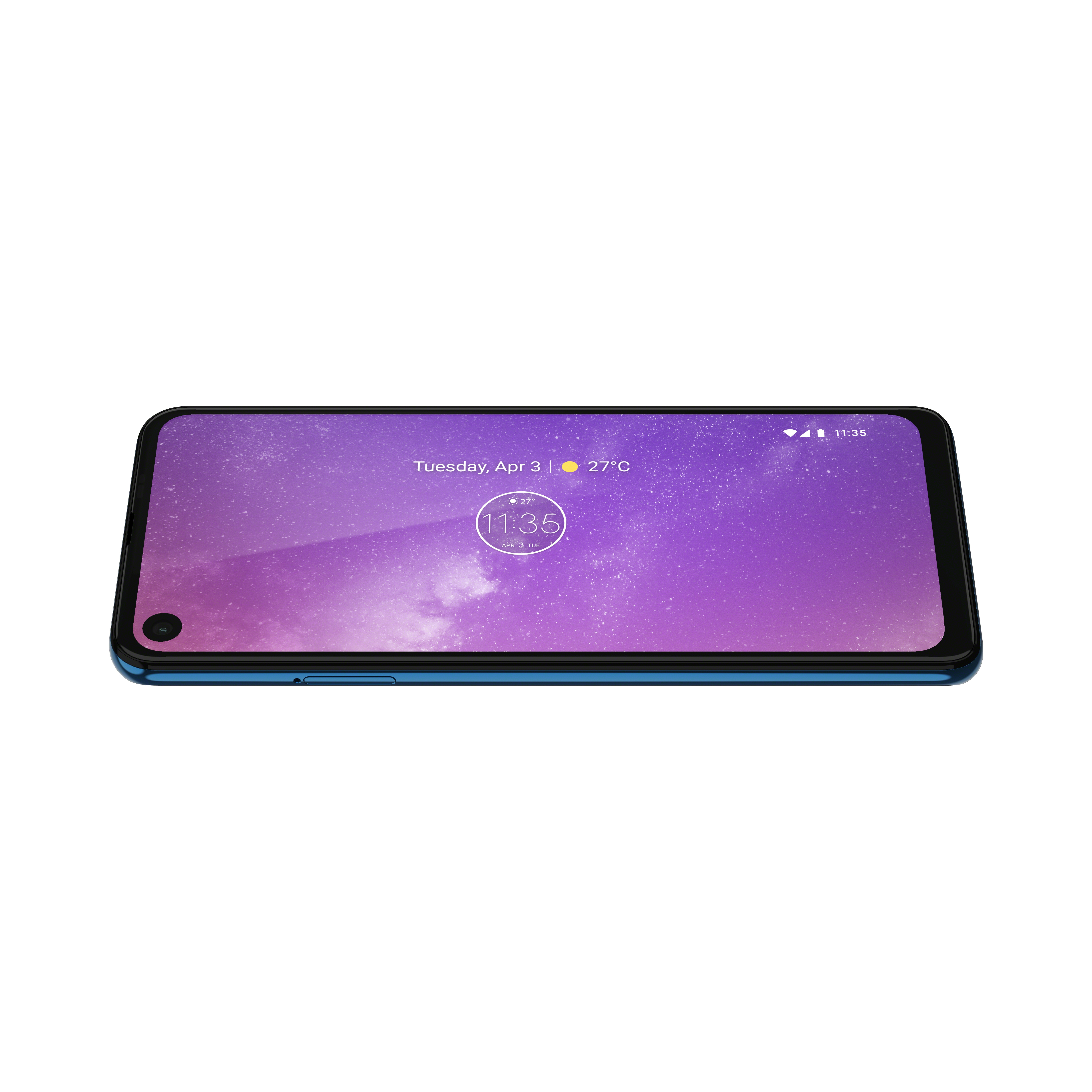 The Motorola One Vision is official with hole-punch camera and