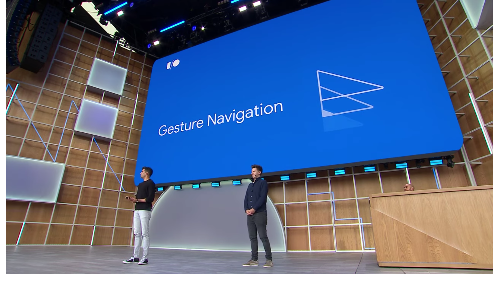 Android Q will include gesture and 3-button navigation as default options, but OEMs can still add their own