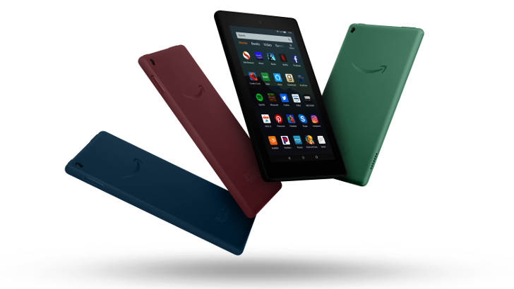 Amazon Updates Fire 7 Tablets