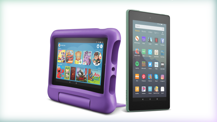 Amazon revamps Fire 7 tablet with faster internals, same super low price