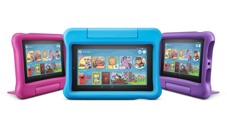 Amazon launches new Fire for kids with added FreeTime