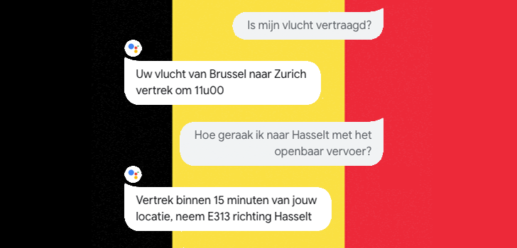 Comment on Google Assistant on phones supports Belgian variants of Dutch, Deutsch, French, and English by Rita El Khoury