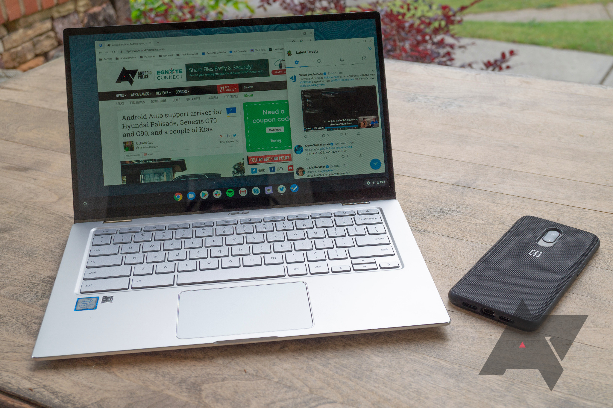 Chrome OS virtual desktops now in Beta channel, keyboard shortcuts