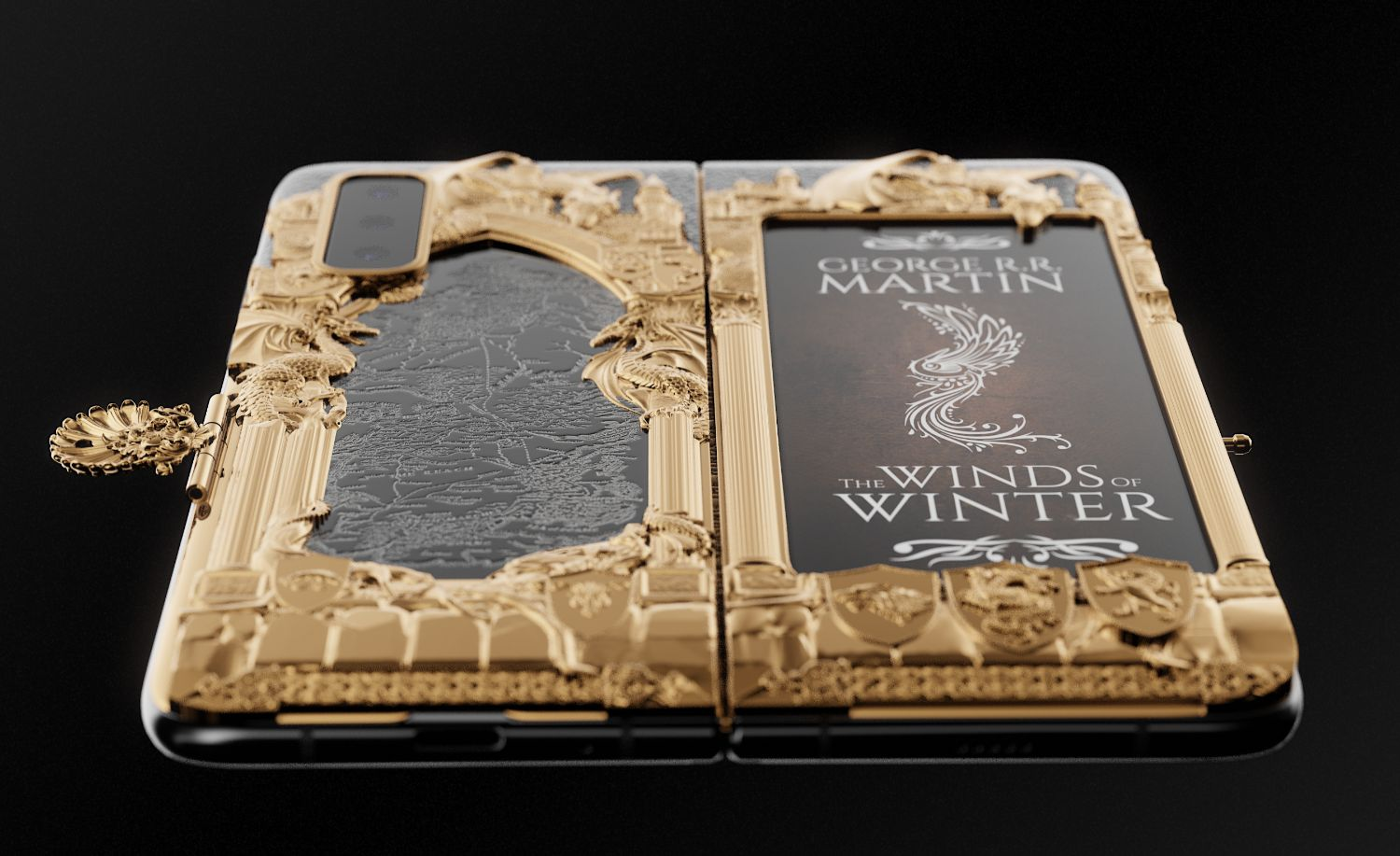 Unreleased Galaxy Fold gets a Game of Thrones edition by Caviar
