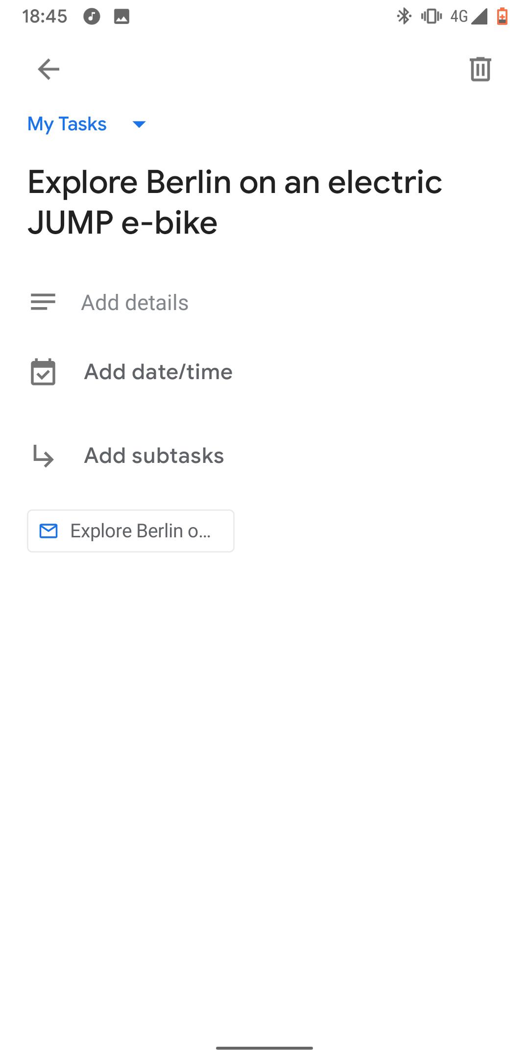 Gmail app gets Google Task integration [APK Download