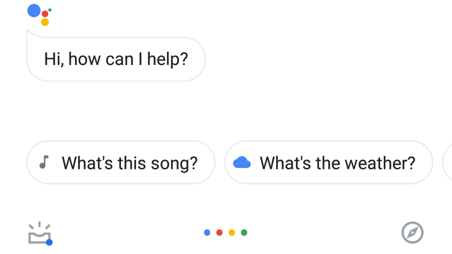 Google Assistant testing new Holo-esque translucent UI