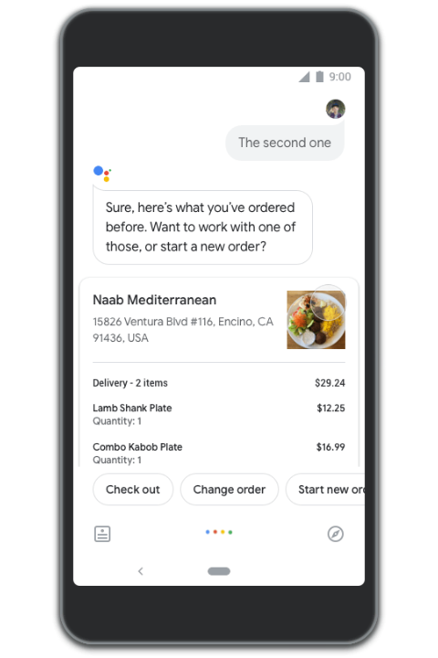 Google promises 'even easier' food delivery from Search, Maps, and