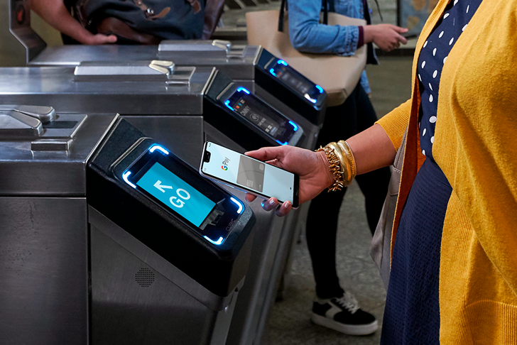 Google Pay makes it much easier for transit systems to work with it