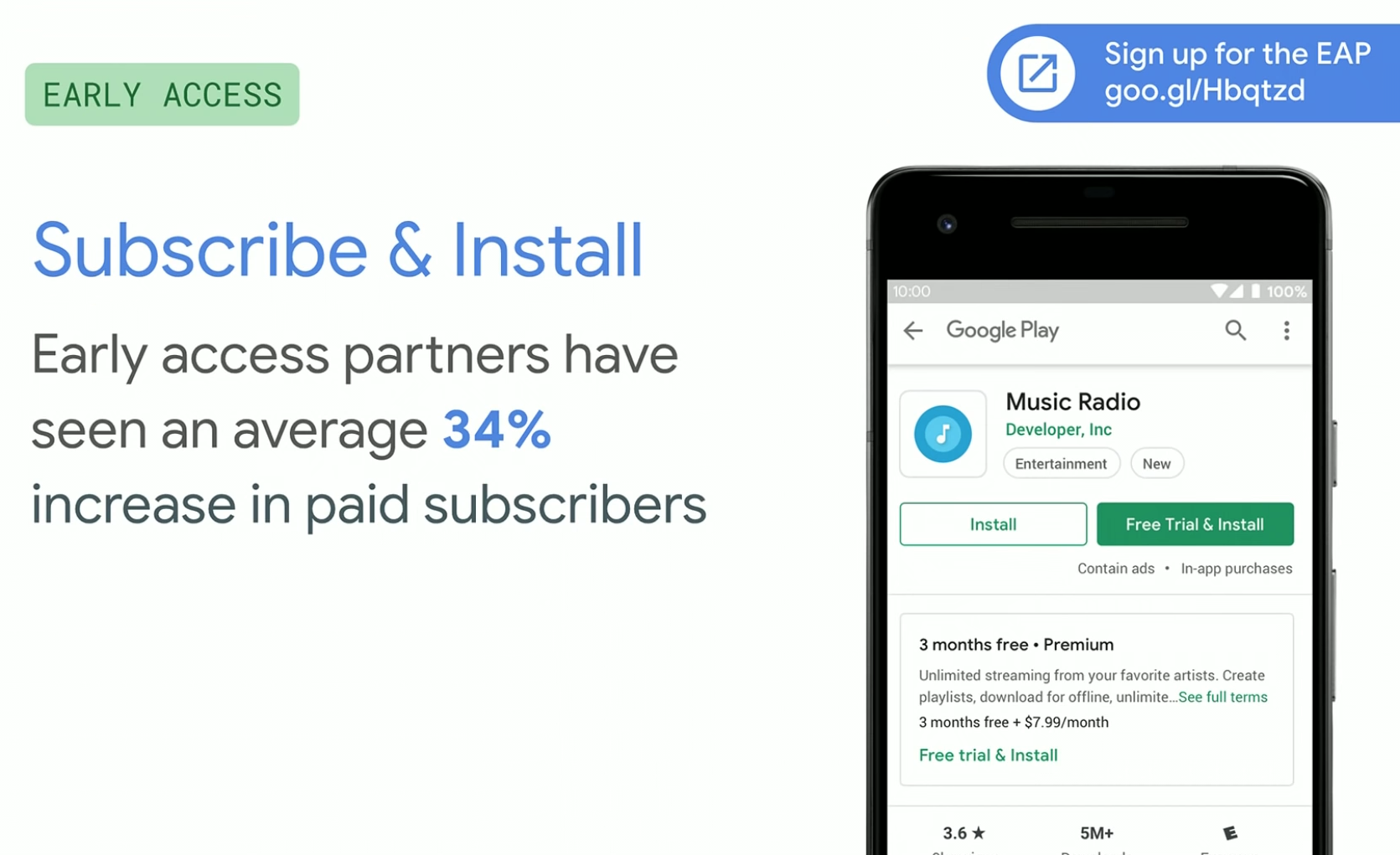 Developers offering subscriptions on Google Play will have more ways to grab users and retain them