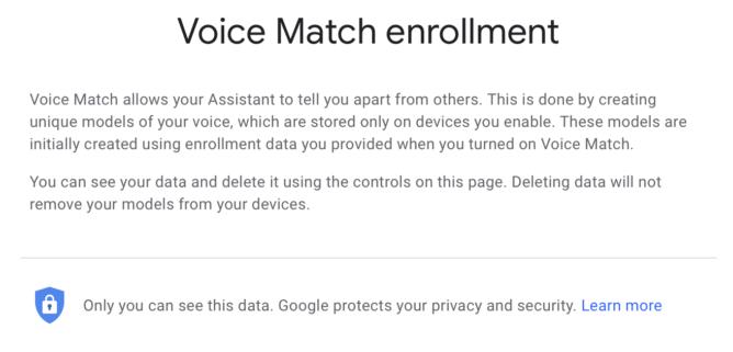 Here's how to delete those 'Ok Google' training recordings