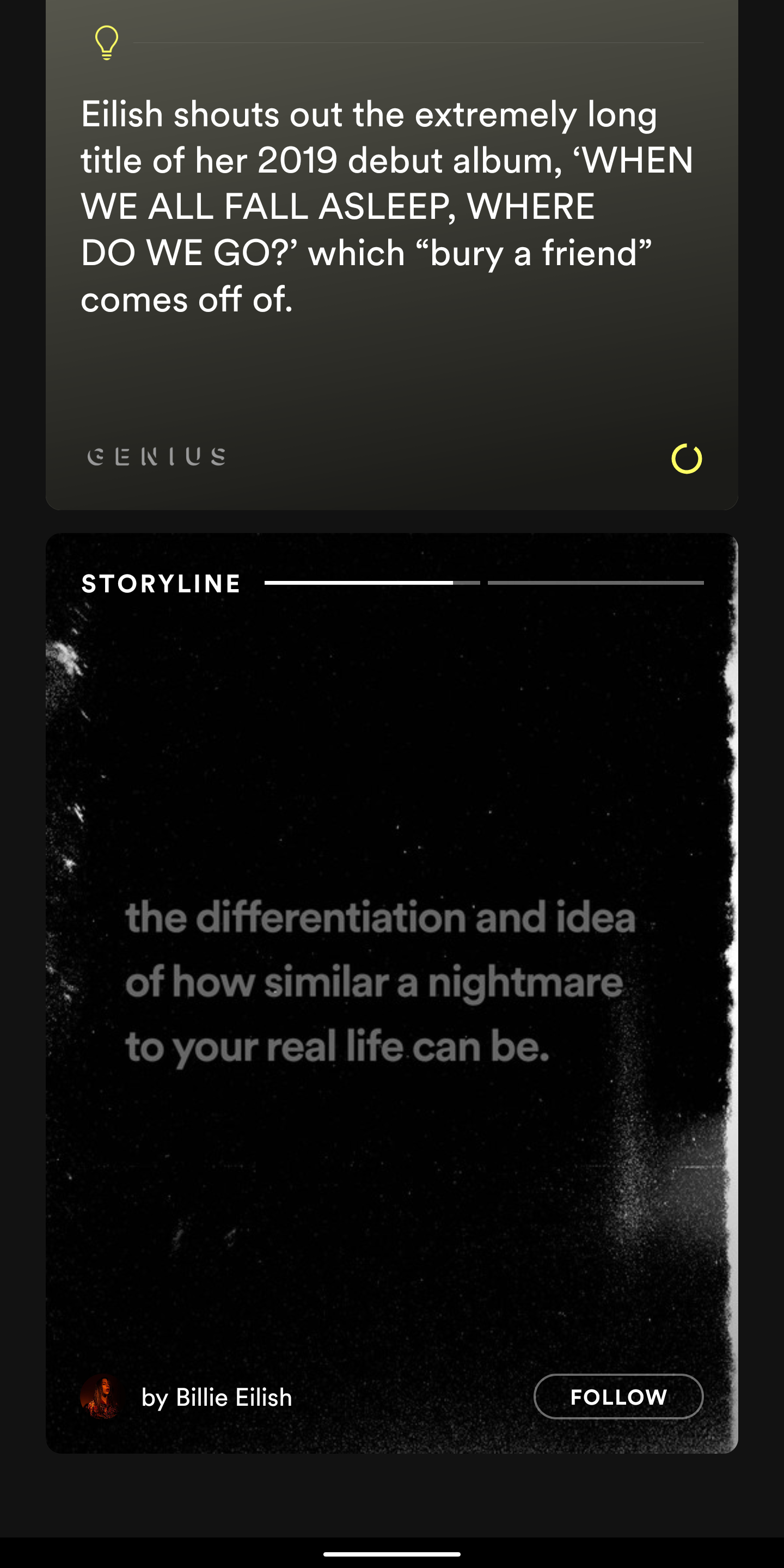 Spotify 'Storyline' lets artists tell the story behind their