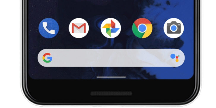 Google Sneaks In New Navigation Bar For Android Q, Swipe