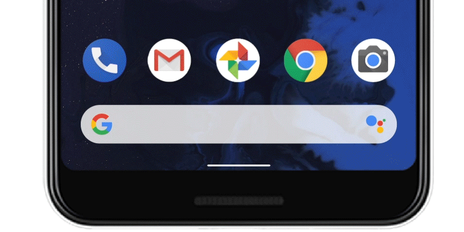 Google sneaks in new navigation bar for Android Q, swipe-for