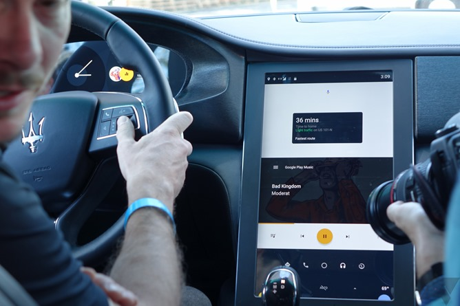 My First Look At Google S All New Android Automotive On The Polestar