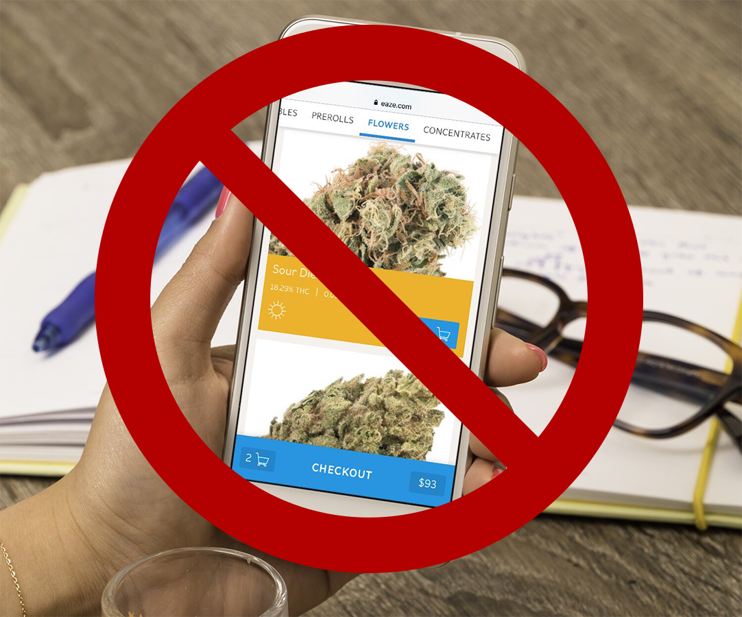 Marijuana delivery apps are now banned on Google Play Store