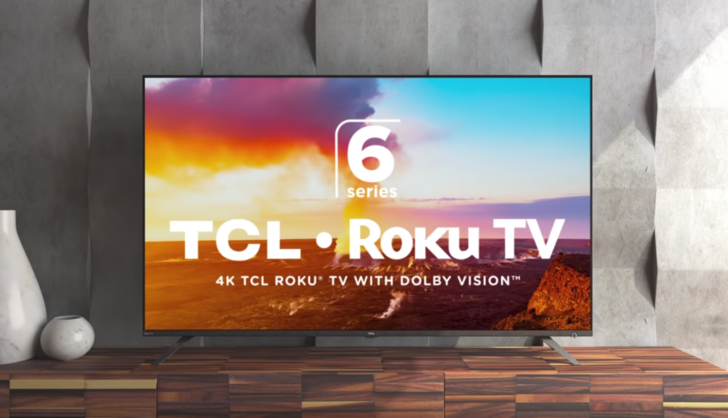 """TCL's highly rated 6-series 4K HDR TVs on sale — 55"""" for $450 and 65"""" for $700"""