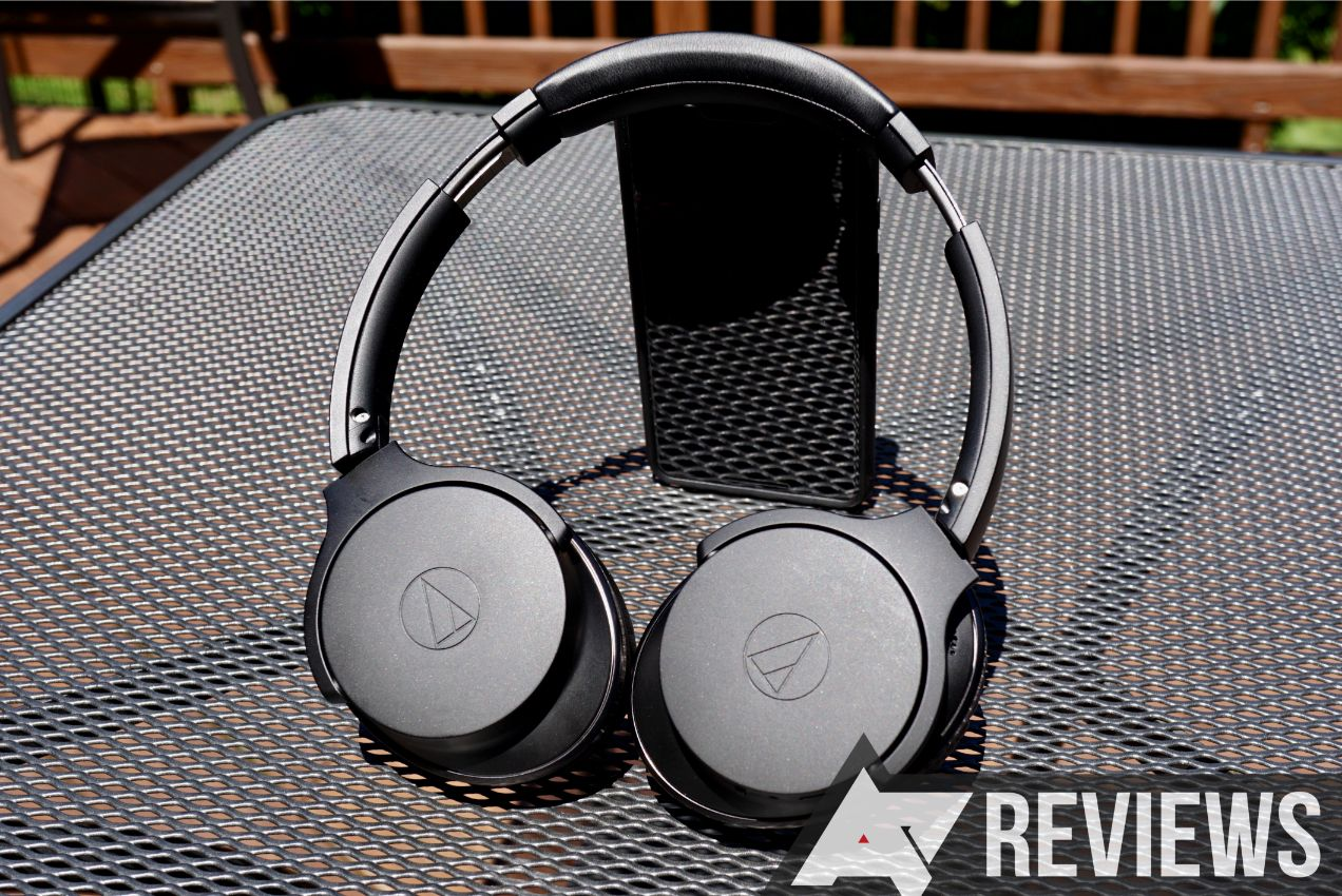 Review: Audio-Technica's $300 noise-cancelling headphones