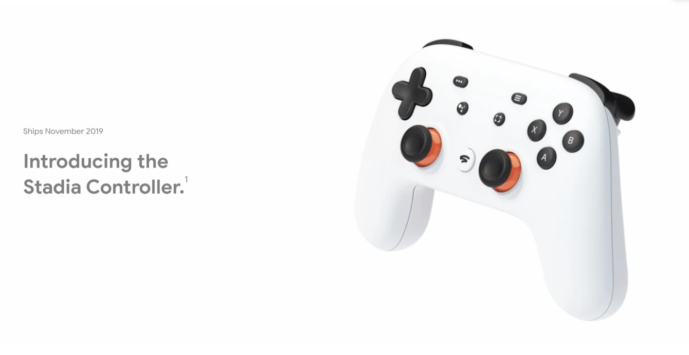 Google's Stadia Controller now available for preorder without Founder's Edition